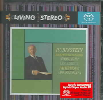 BEETHOVEN:PIANO SONATAS BY RUBINSTEIN,ARTHUR (CD)